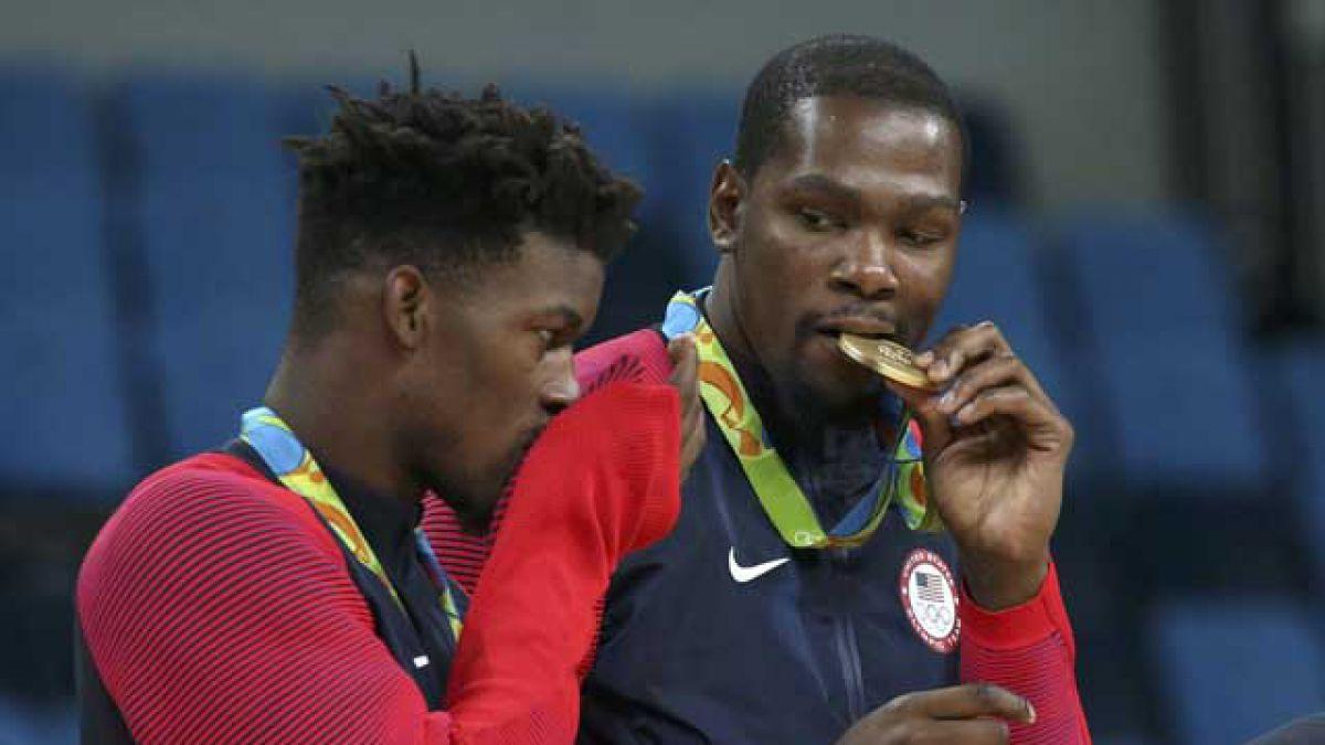 Estados Unidos vence a Serbia y se queda con el oro en el básquetbol de Río 2016