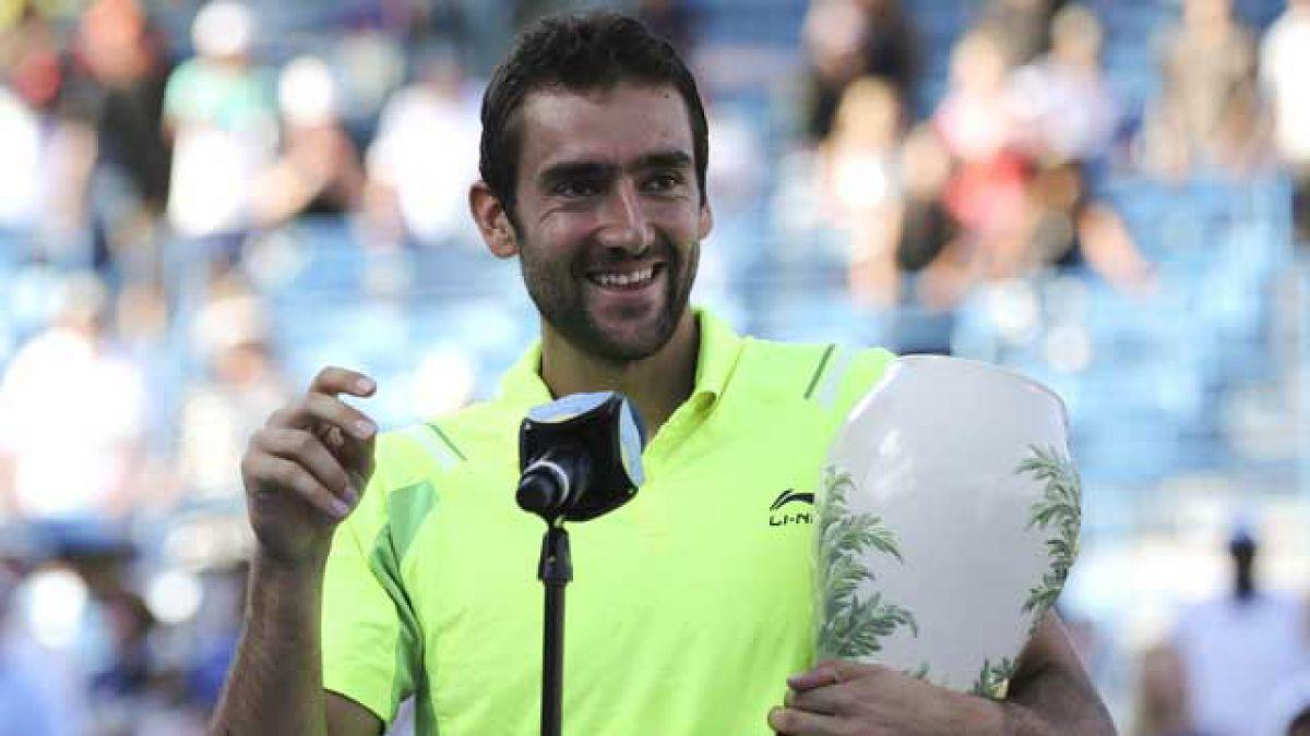 Croata Cilic sorprende al escocés Murray y gana Masters 1000 de Cincinnati