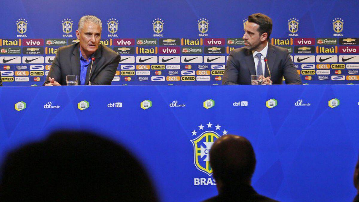 DT de Brasil cita a siete campeones olímpicos de cara a duelos por Clasificatorias