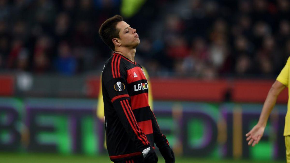 La insólita lesión doméstica que sufrió Chicharito en Alemania