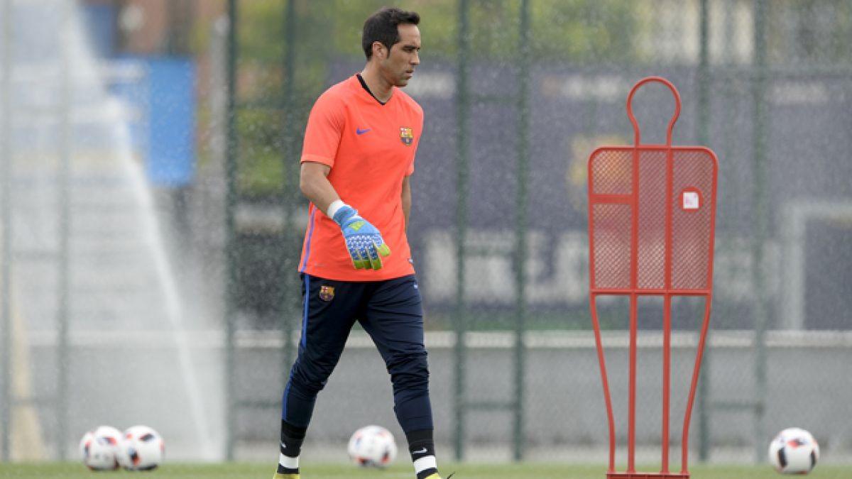 ¿Por qué Claudio Bravo optó por dejar el FC Barcelona?