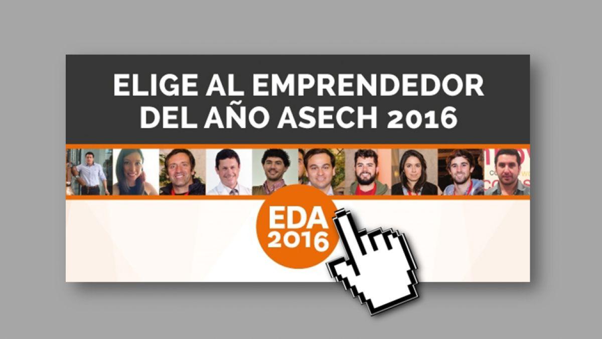 Vota por el emprendedor del año ASECH 2016
