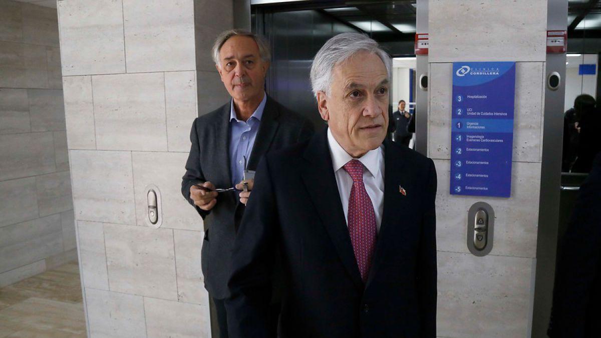Piñera: Gobierno me criticará haga lo que haga