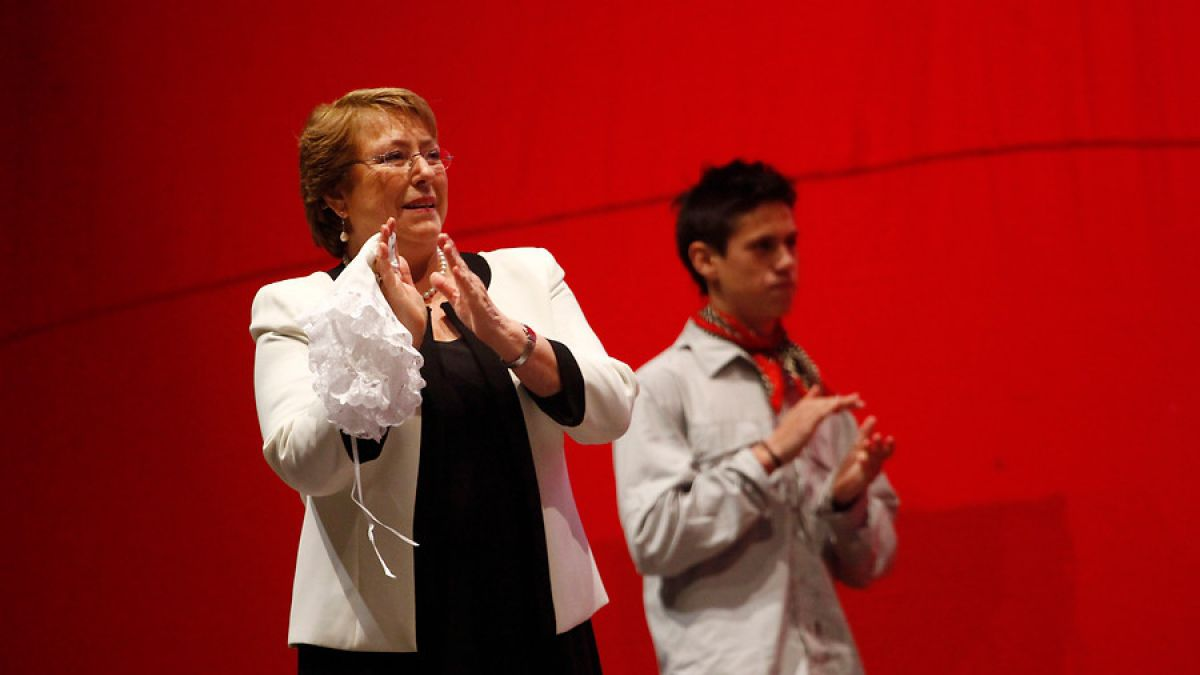 Michelle Bachelet participa en Te Deum por Fiestas Patrias