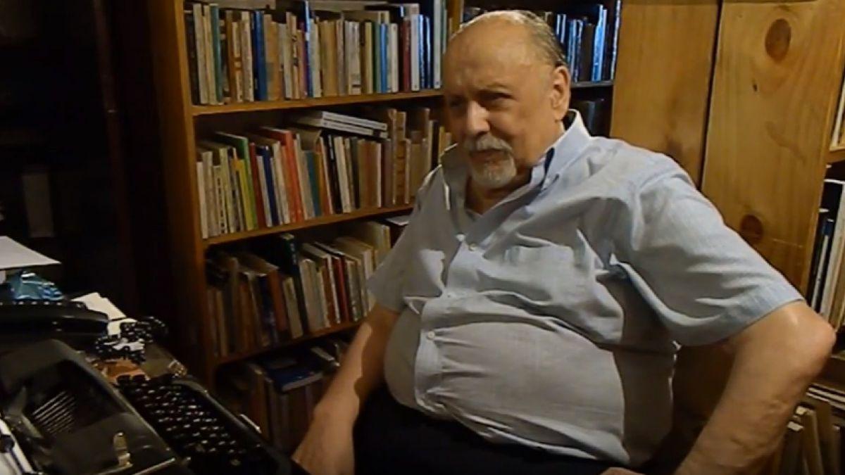 A los 83 años muere el escritor Luis Rivano   Tele 13