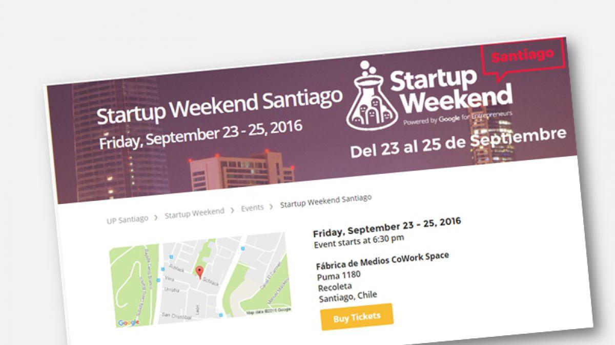 Startup Weekend realizará evento para emprendedores chilenos | Tele 13