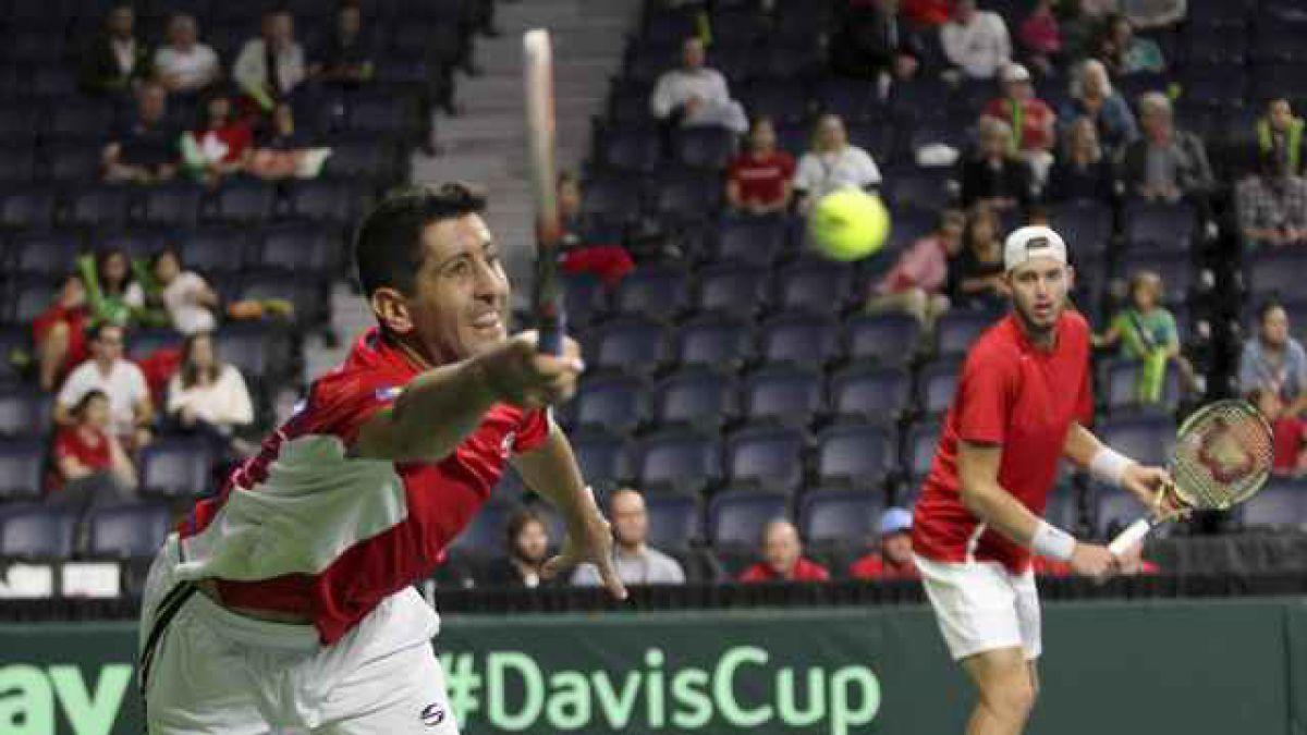 Chile cae en el dobles y pierde la serie de Copa Davis ante Canadá