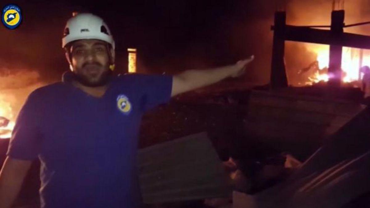 Mueren 4 empleados tras ataque a centro médico sirio