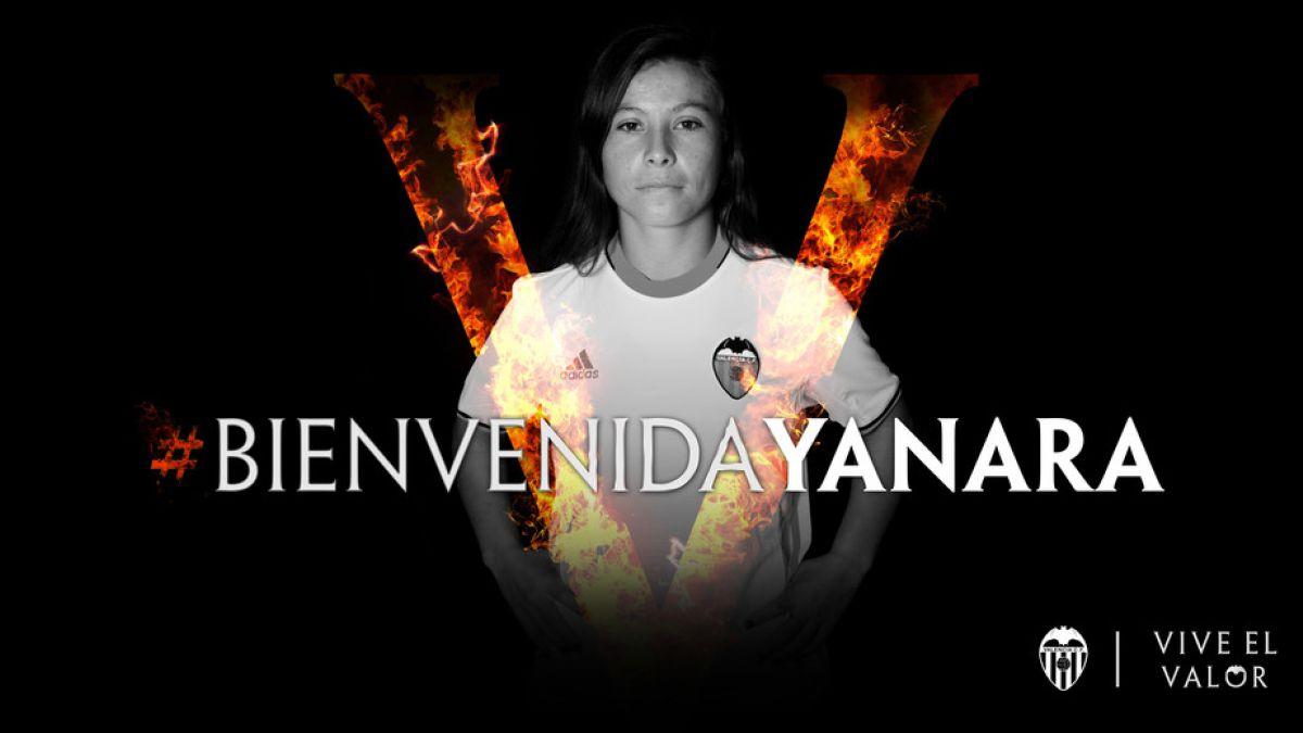 La delantera chilena Yanara Aedo ficha por el Valencia