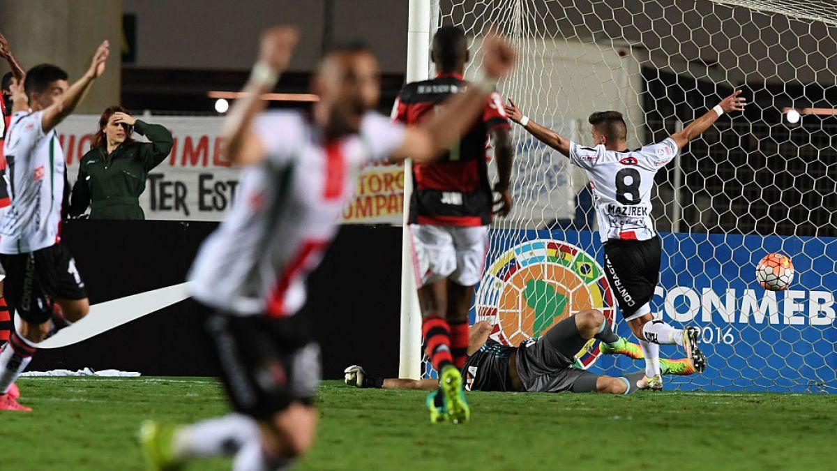 Palestino logra la hazaña ante Flamengo y avanza en Copa Sudamericana