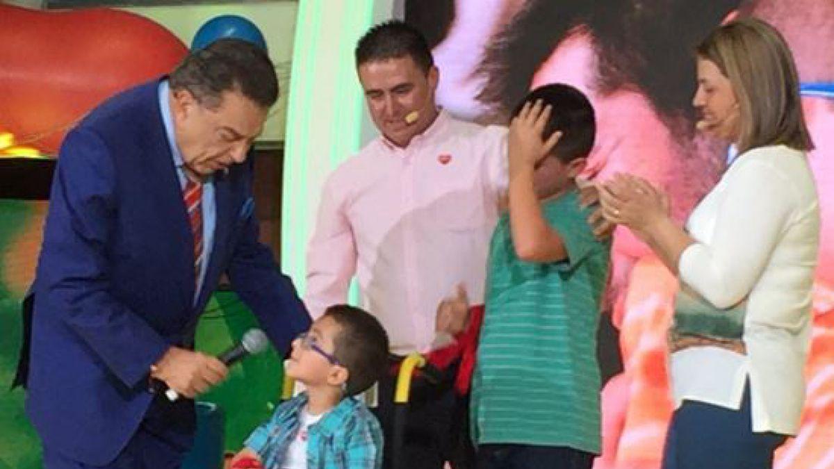Vicente Jopia es el Niño Símbolo de la Teletón 2016
