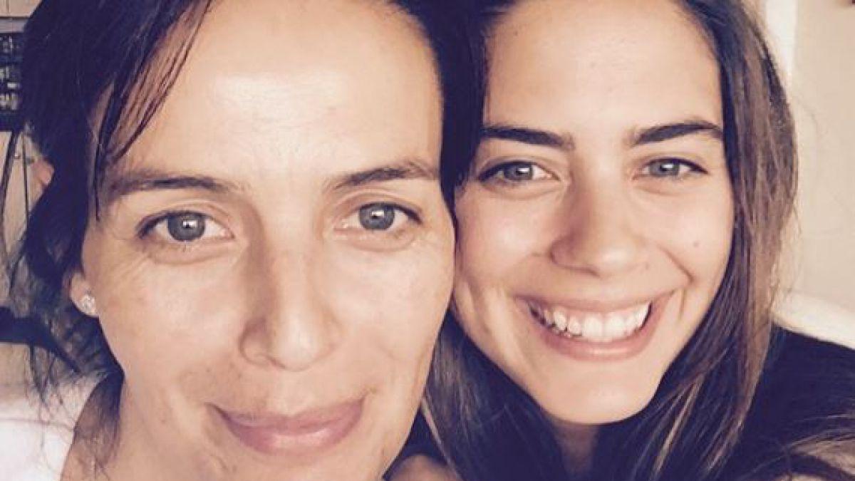 Rosita Parsons junto a su hija, Lorenza Izzo