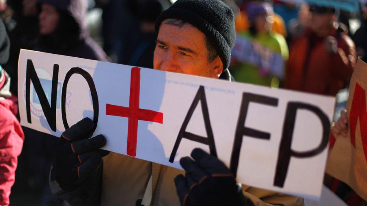 Indignados de Chile llaman a marcha contra las AFP y la corrupción