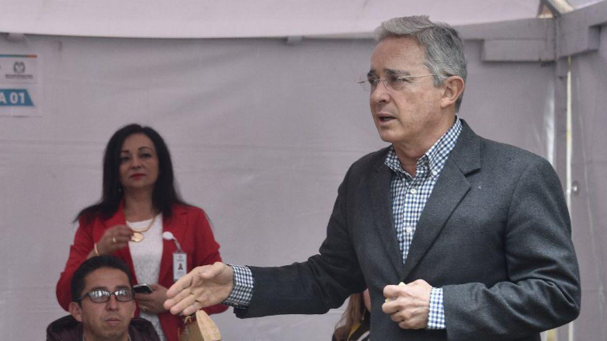 Álvaro Uribe pidió que se consolide un pacto nacional por la paz