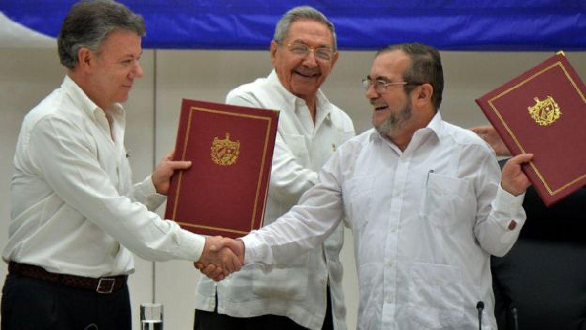 Congreso de Colombia ratifica acuerdo de paz con FARC