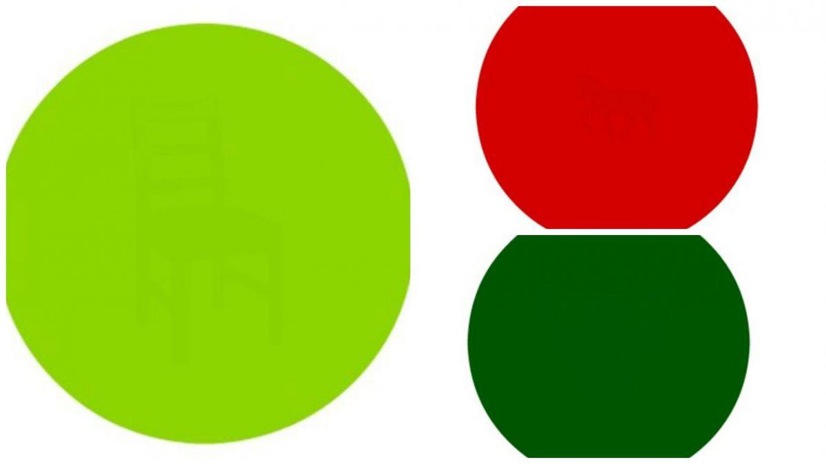 Pon a prueba tu agudeza visual con este desafío de colores   Tele 13