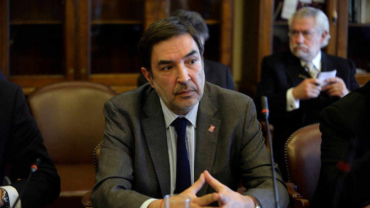 Patricio Santamaría, presidente del Consejo Directivo del Servel