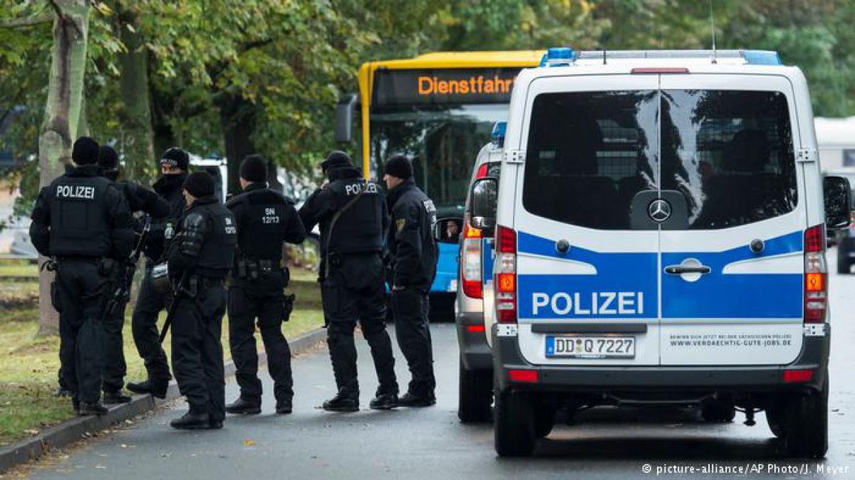 Policía alemana realiza enorme redada antiterrorista