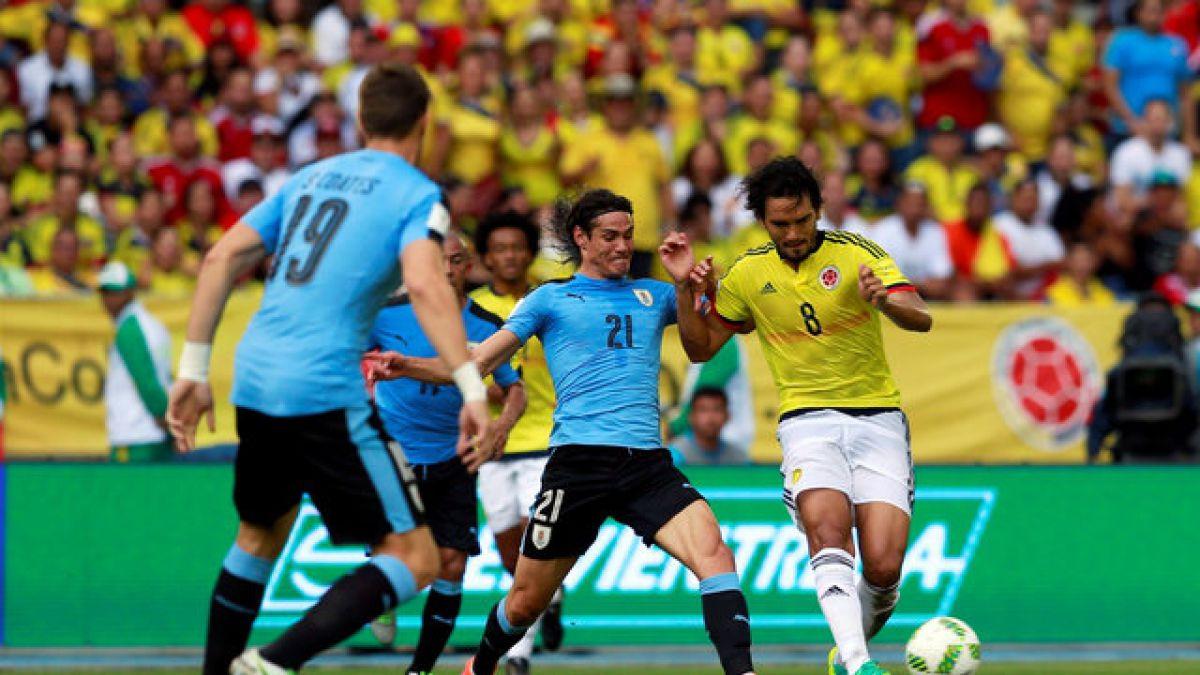 Resultado de imagen para colombia vs uruguay