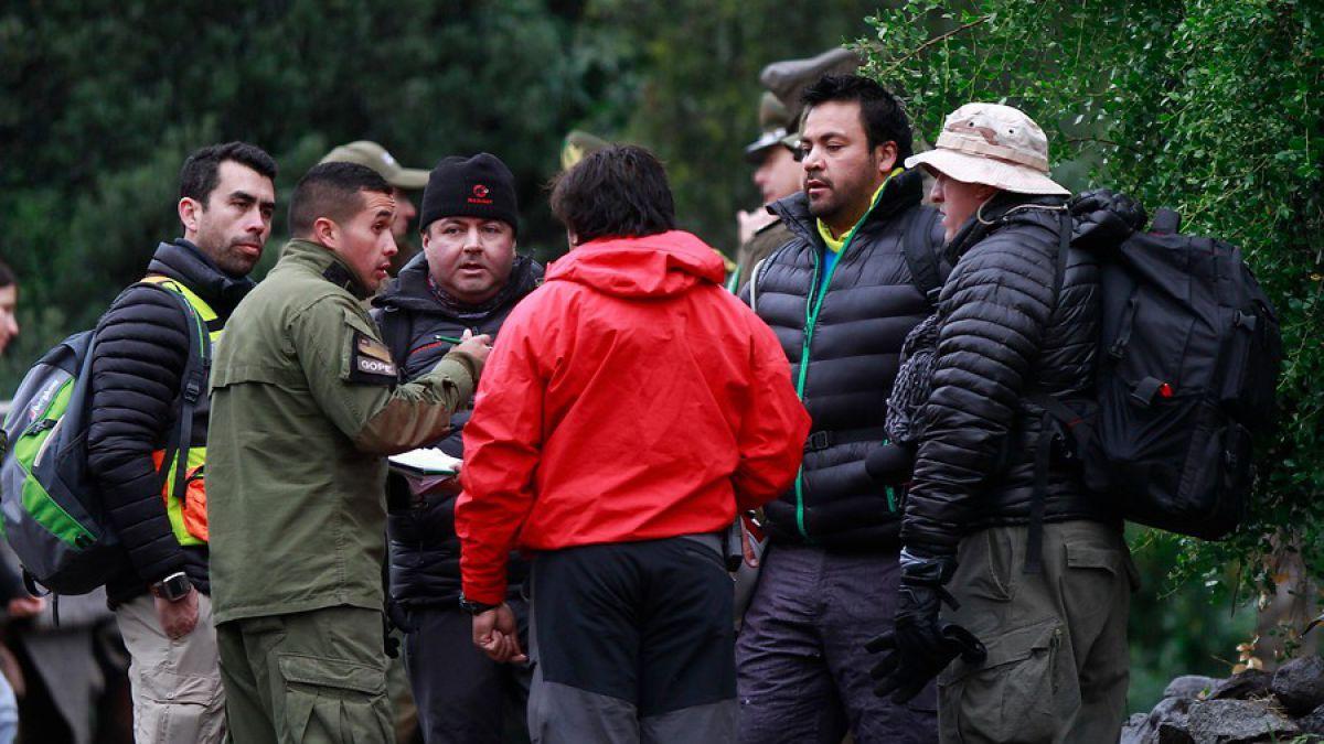Continúa la búsqueda de los dos jóvenes extraviados en el Cerro Provincia