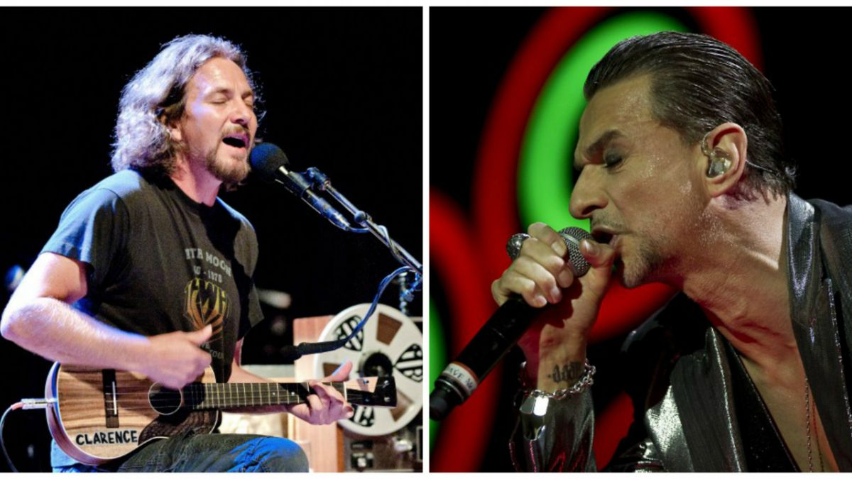 Pearl Jam y Depeche Mode