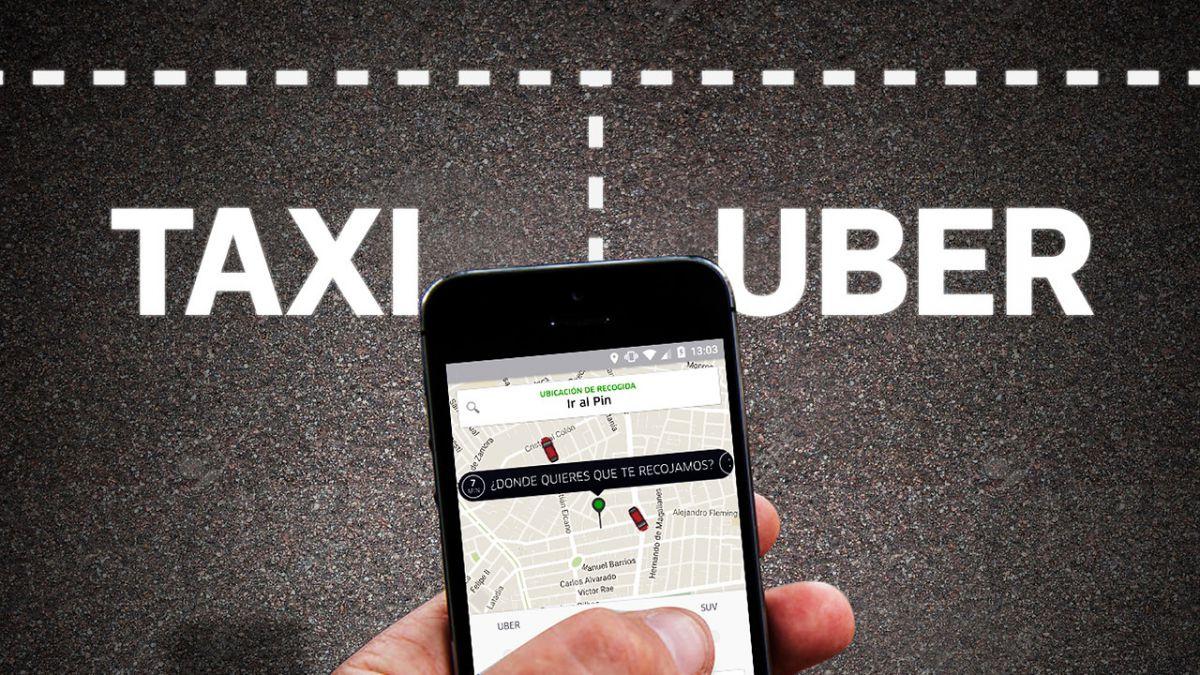Licencia profesional y cobro por kilómetro: el proyecto que busca regular Uber y otras aplicaciones