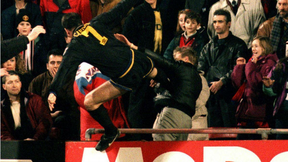 Un jugador argentino le pegó una patada a un hincha chileno