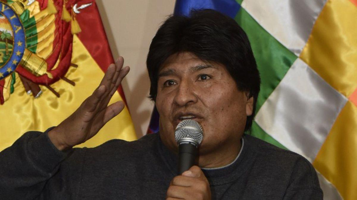 """Evo Morales acusa a Chile de """"economicidio"""" contra Bolivia."""