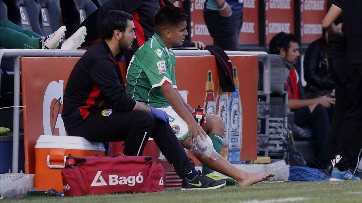 Audax Italiano publica parte médico de jugador lesionado por Stefano Magnasco