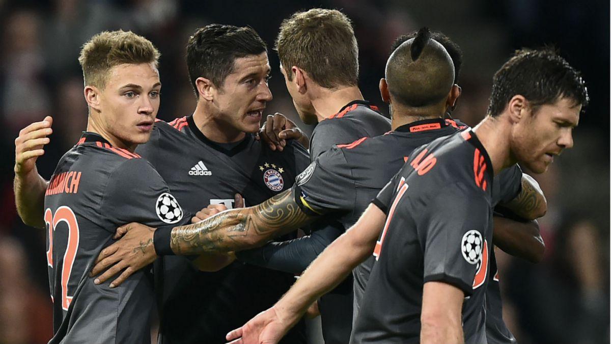 Bayern, Atlético, Arsenal y PSG a octavos de final de Champions