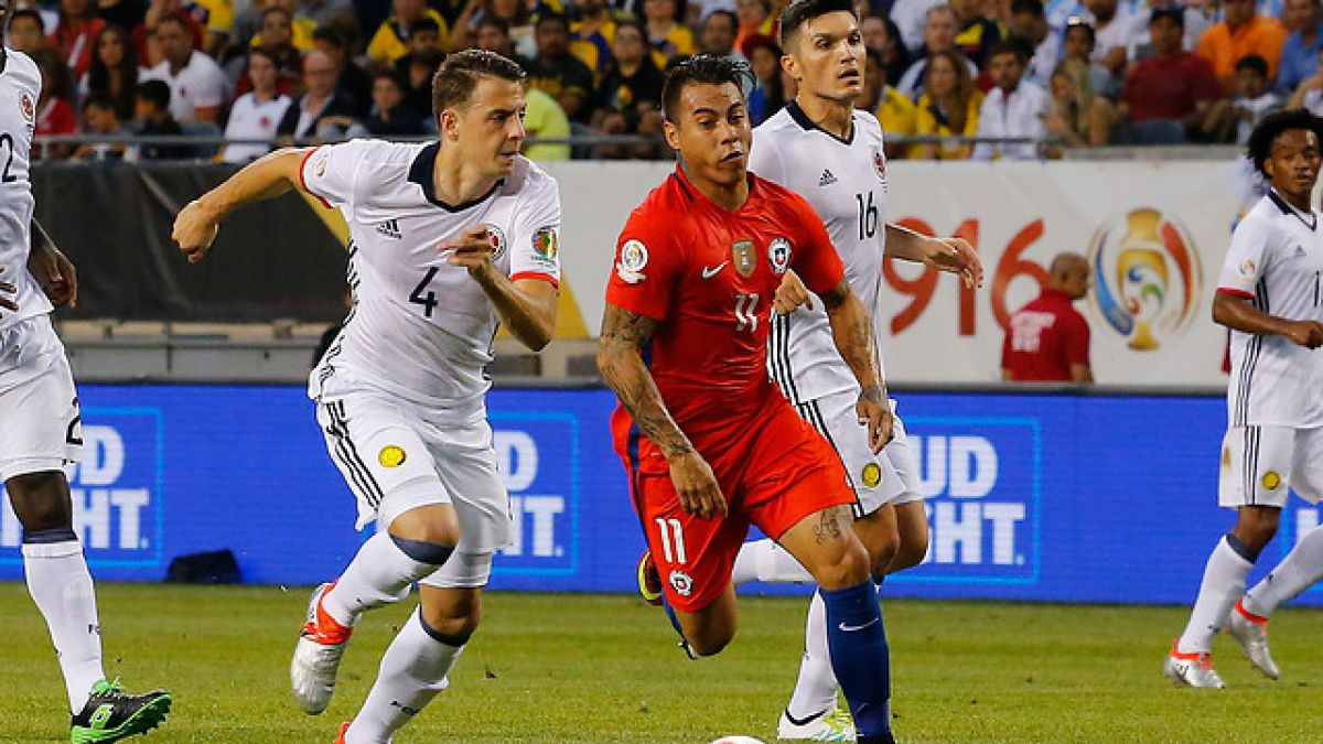 Amargo empate sin goles entre Colombia y Chile