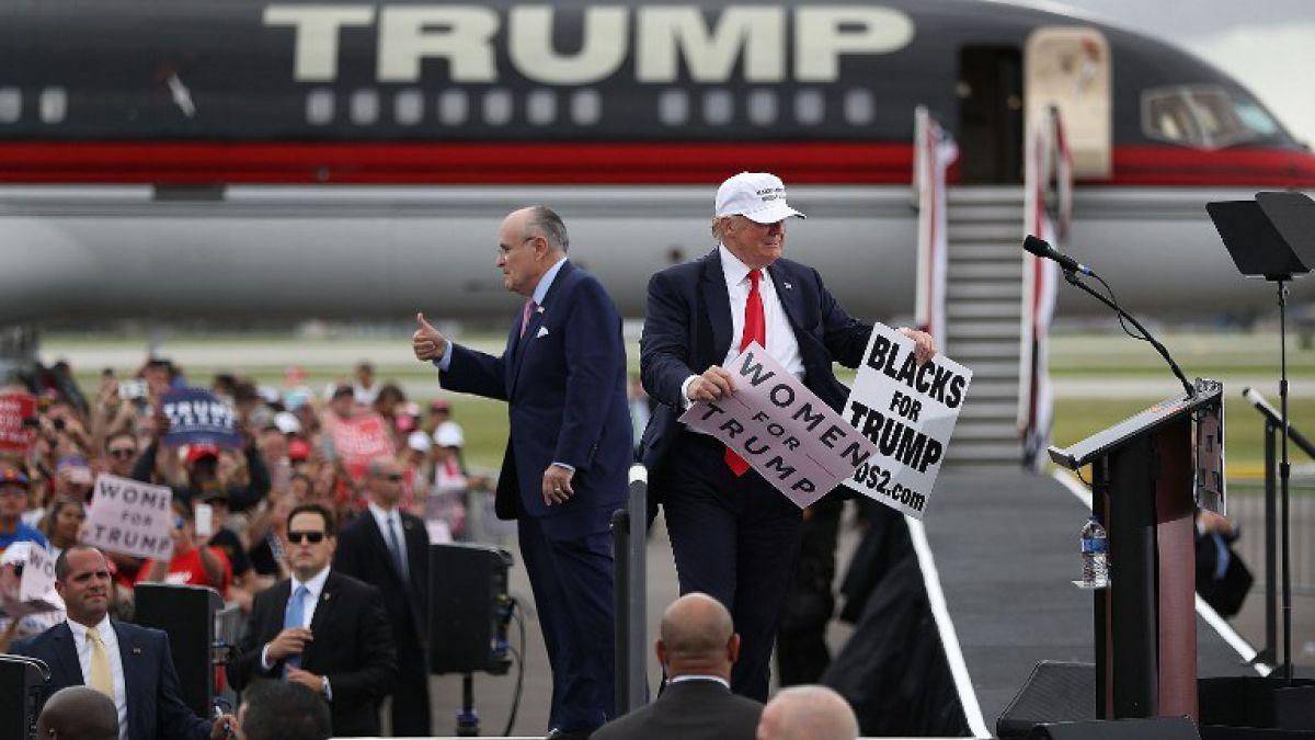 Giuliani: opositores de Trump son unos llorones