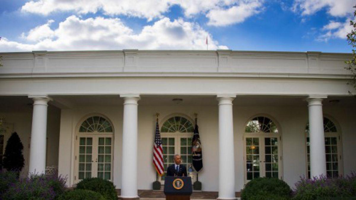 Primer encuentro entre Obama y Trump en la Casa Blanca | Tele 13