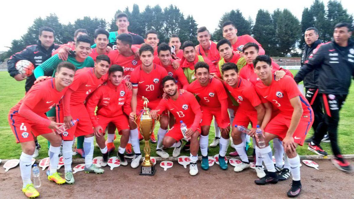 """""""La Roja"""" Sub 20 vence a Ecuador y se titula campeón de la Copa Ciudad de Tulcán"""