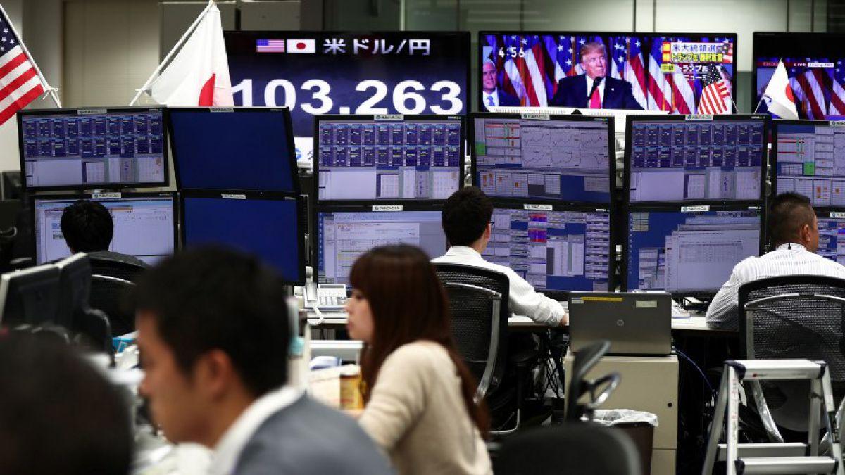 La bolsa de Tokio terminó en fuerte baja de 1,32% arrastrada por hundimiento de Toshiba