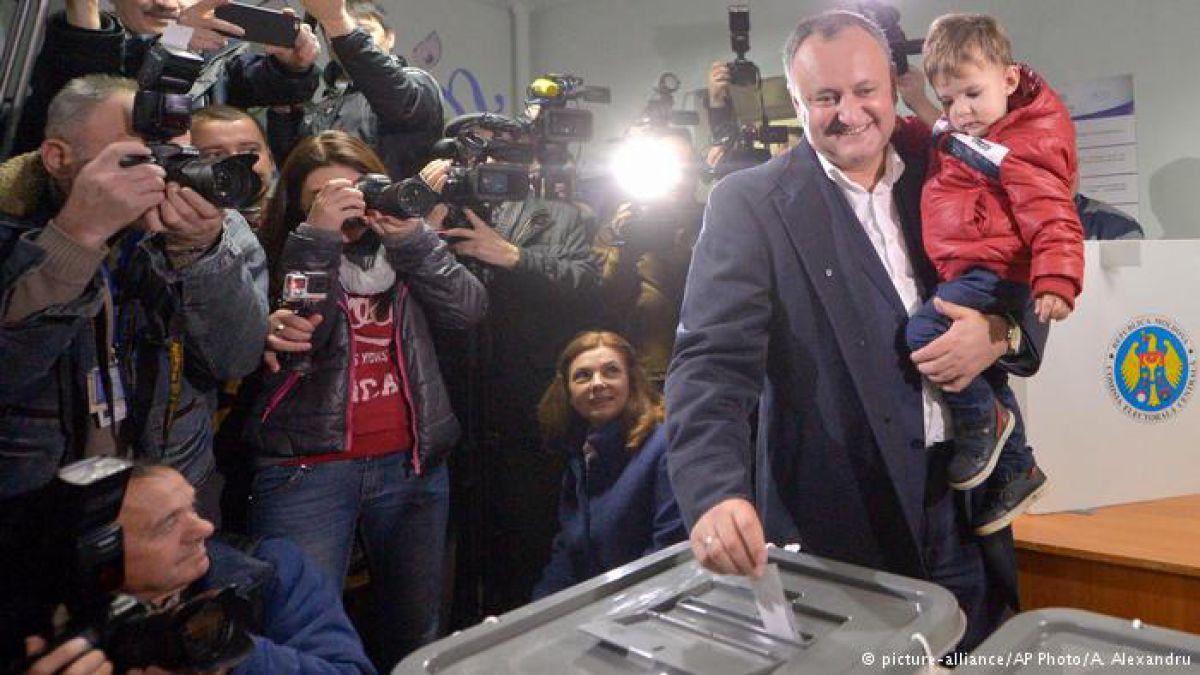 Igor Dodon, nuevo presidente de Moldavia