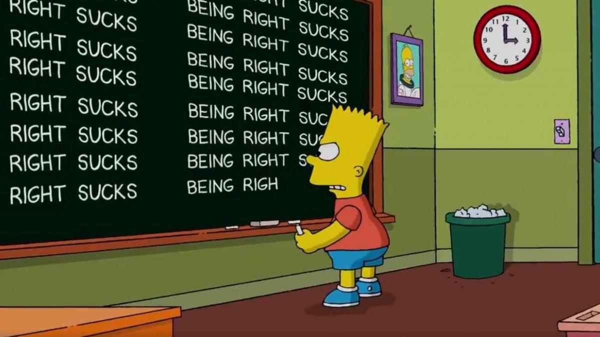 [VIDEO] La ingeniosa respuesta de Los Simpsons a su predicción sobre la victoria de Trump