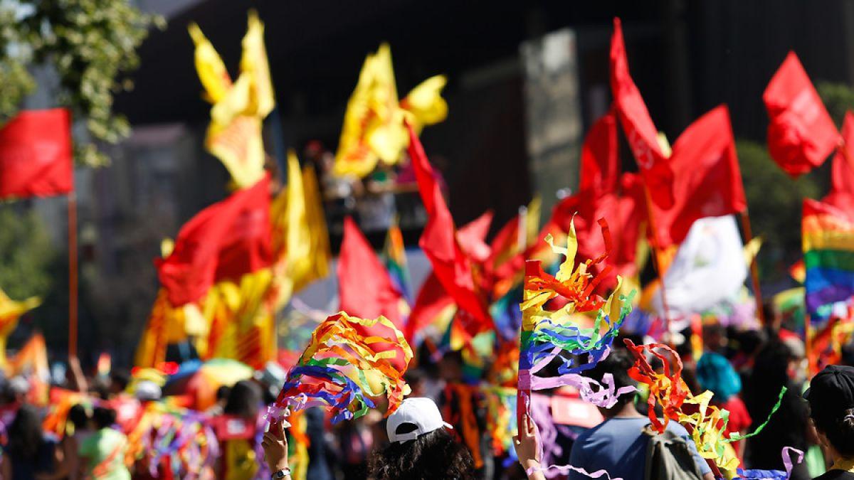 La última marcha de la diversidad sexual tuvo como tema central la demanda por una ley de identidad de género