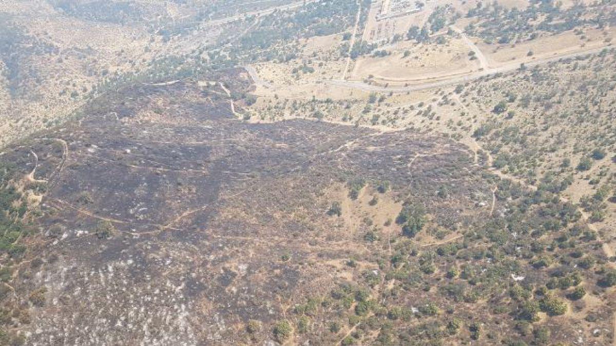 Incendio forestal en Maipú genera gigantesca humadera en sector poniente de Santiago