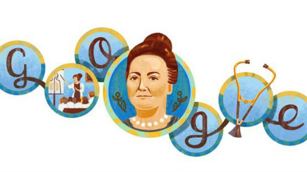 Google le dedica doodle a la primera médico argentina