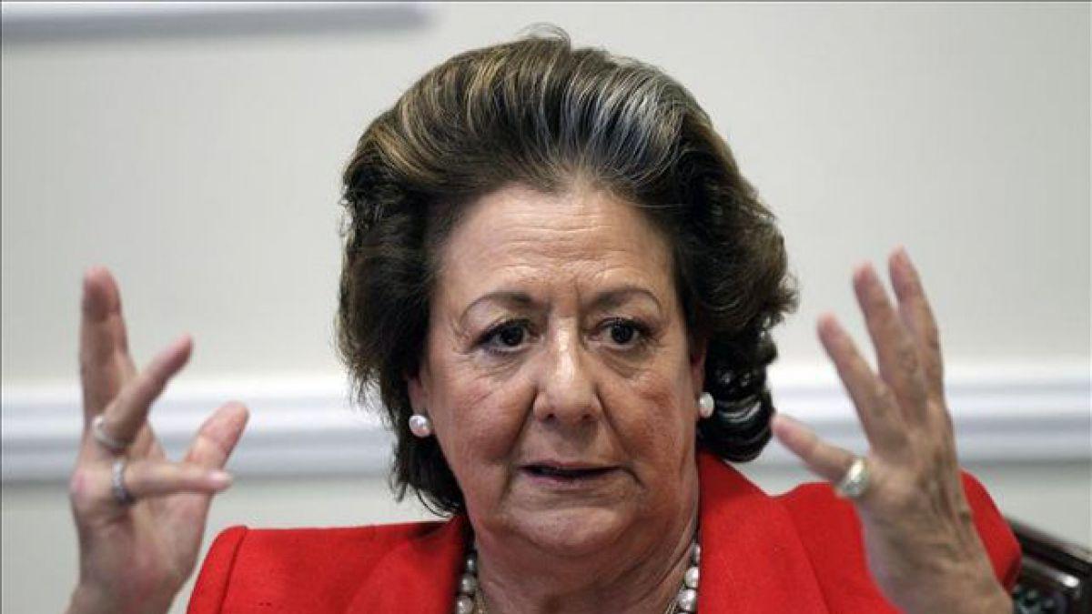 Histórica dirigente de la derecha española investigada por corrupción — Muere Rita Barberá