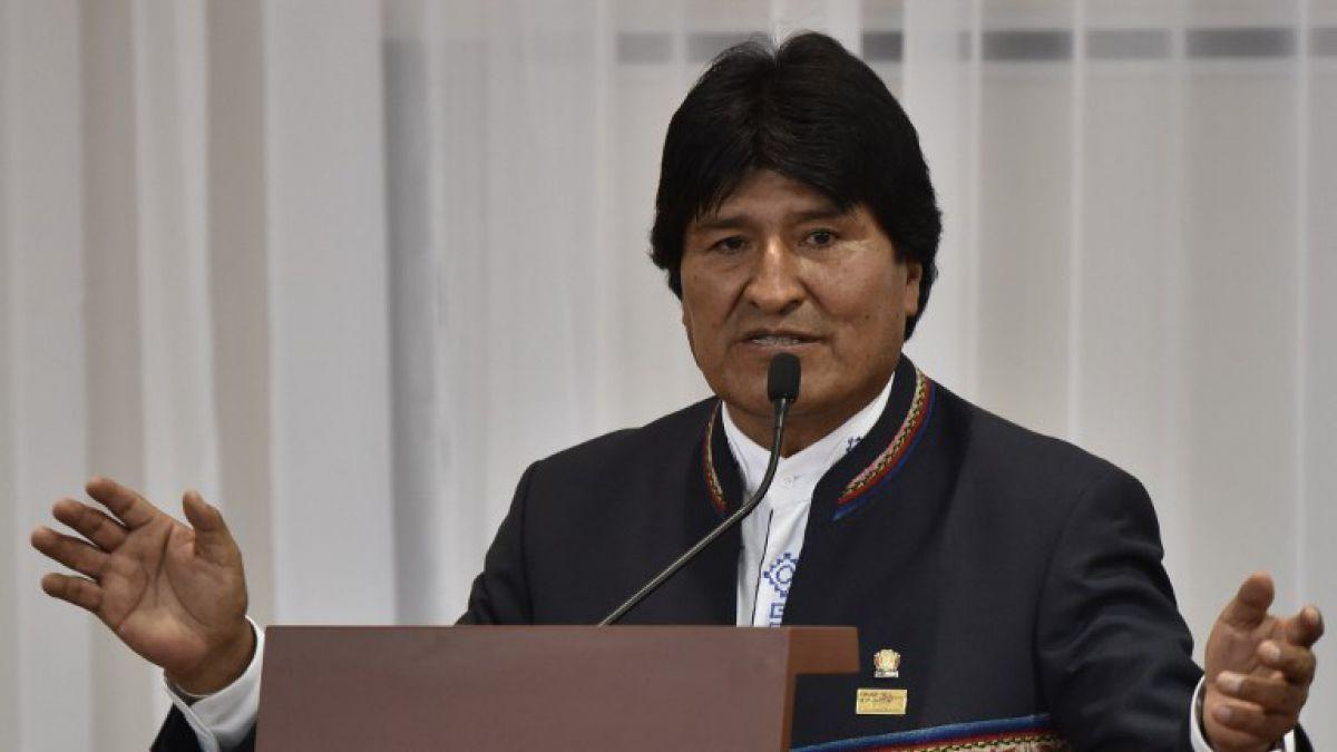 Morales admite que la falta de agua en Bolivia es como un terremoto