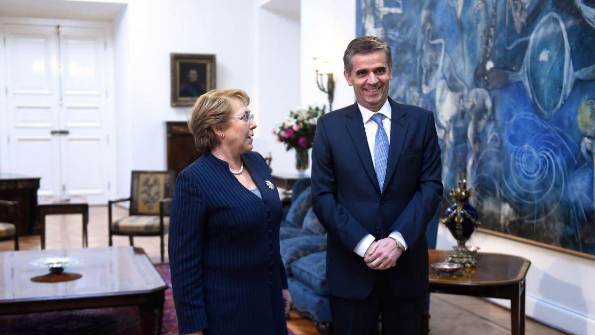 Rodrigo Vergara confirma renuncia al Banco Central y se integrará al CEP