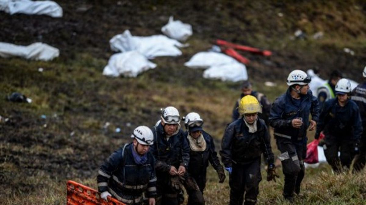 Las cuatro personas que, finalmente, no subieron al avión — Chapecoense