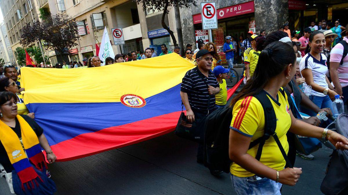 Resultado de imagen para LA POBREZA DE COLOMBIANOS EN CHILE