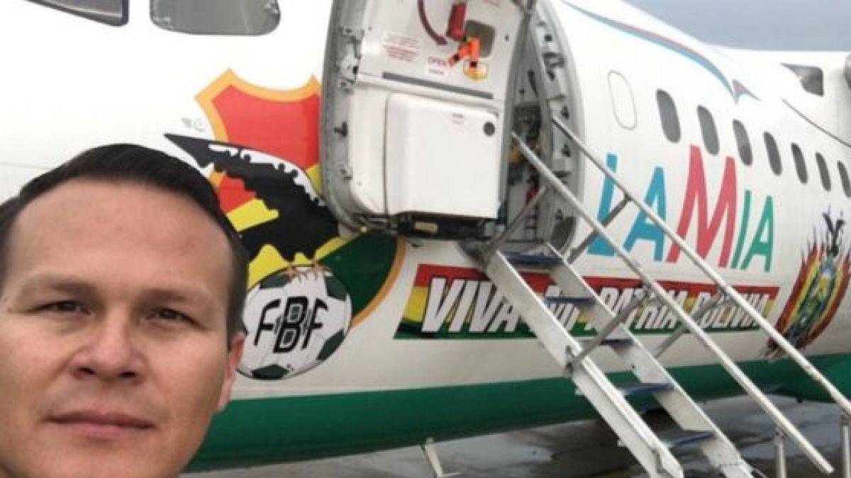 Esposa del piloto del avión que trasladó al Chapecoense