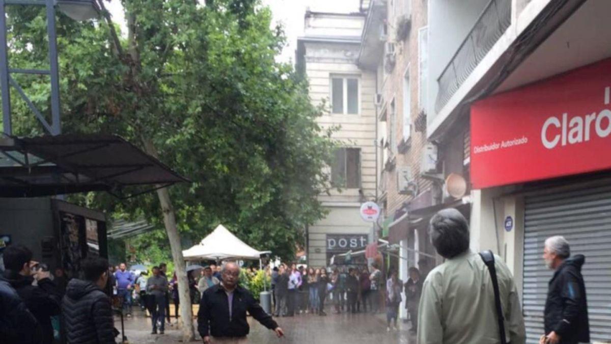 Se reporta explosión en la comuna de Providencia