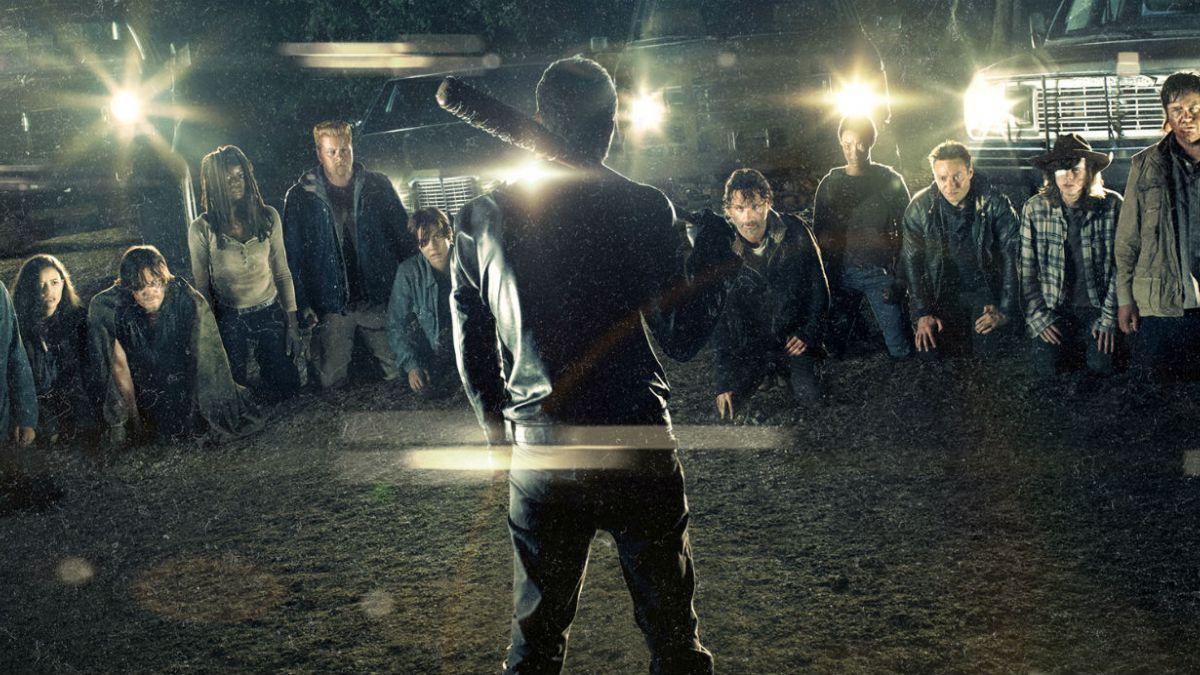 """""""The Walking Dead"""" ha tenido una intensa primera parte en su séptima temporada"""