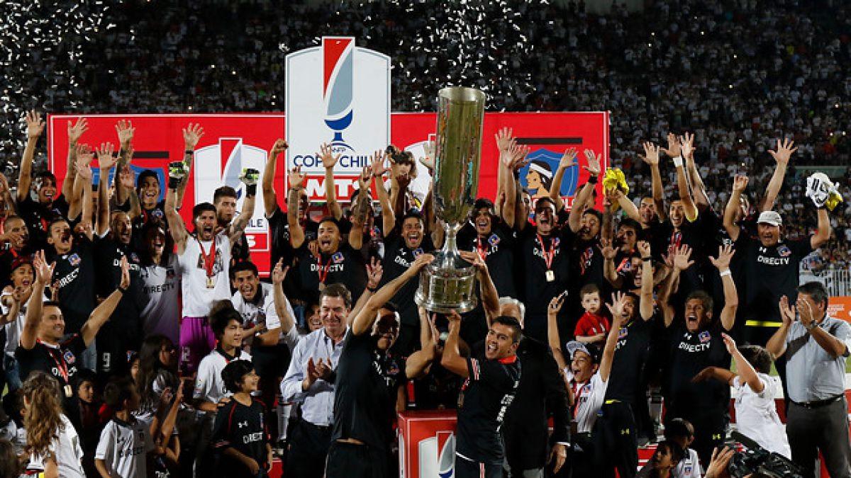 Colo Colo campeón: Golea a Everton y logra levantar su undécima Copa Chile