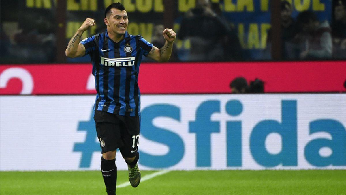 Gary Medel regresa a las convocatorias en el Inter de Milán tras superar lesión